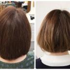 クセがゆるくなり、扱いやすい髪になります。